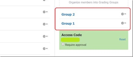 Checking appropriate group for members