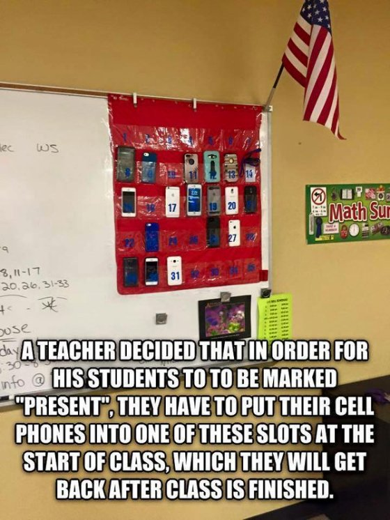 This is an alternative response to a Tweet I found about using mobile technology in class: https://goo.gl/2xV3Ao